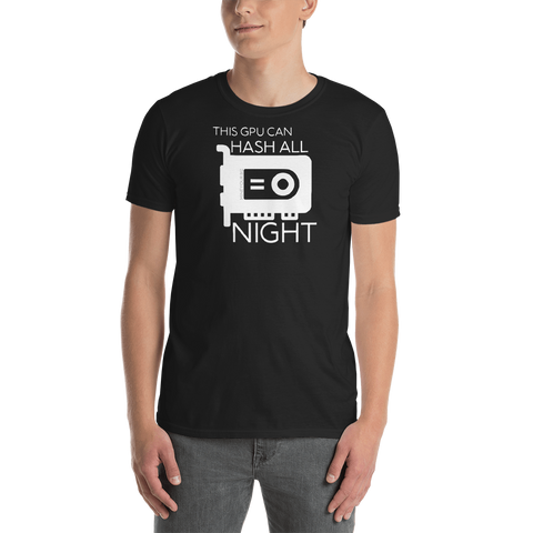 "Thrifty ""Hash ALL NIGHT"" Short-Sleeve Unisex T-Shirt"