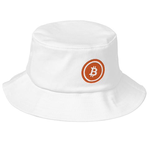 Bitcoin (BTC) Old School Bucket Hat