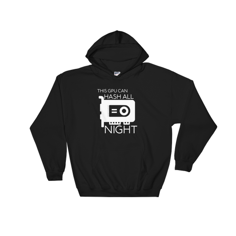 """Hash All Night"" Hoodie"
