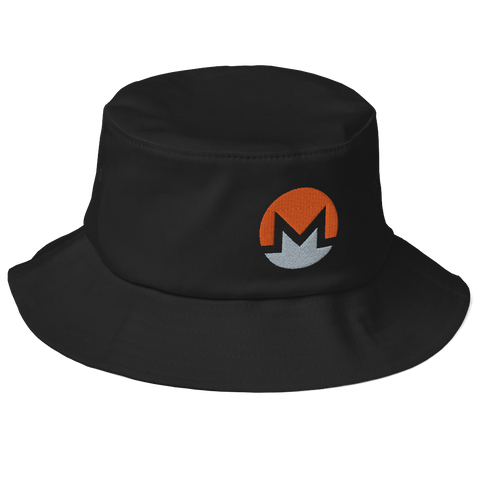 Monero (XMR) Old School Bucket Hat