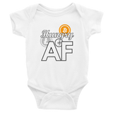 Hungry AF (for Crypto) - Infant Bodysuit