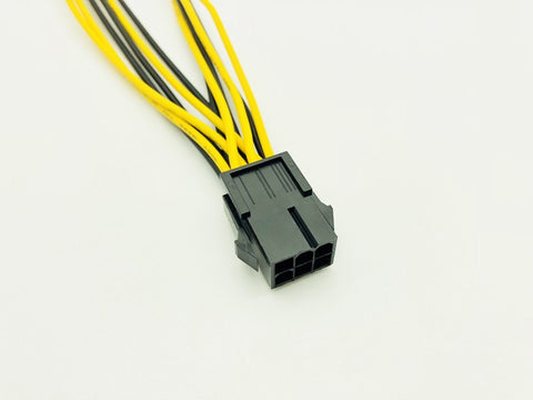 MineYourBiz Cables! 6pin PCIe to Dual 8pin PCIe Cable (bundle of 10)