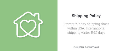 eden shack shipping policy banner 2-7 days