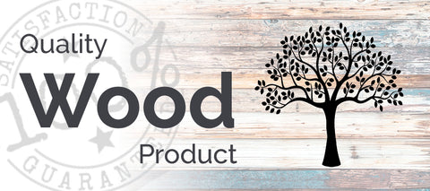 eden shack quality wooden product banner