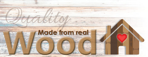 eden shack quality wood product banner
