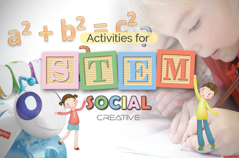 Stem Toys and Social Creativity Banner