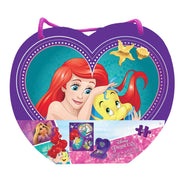 box packaging for Disney Princess 48-Piece Puzzle in Heart-Shaped Box