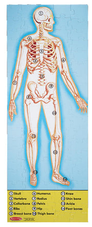 Melissa & Doug -  Human Body Floor Puzzle (100 pc)