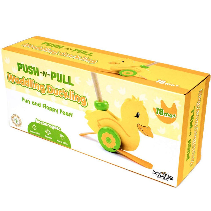 box packaging for Push-n-Pull Waddling Duckling