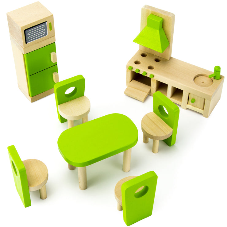 second view of the wooden wonder Eat-In Kitchen Set