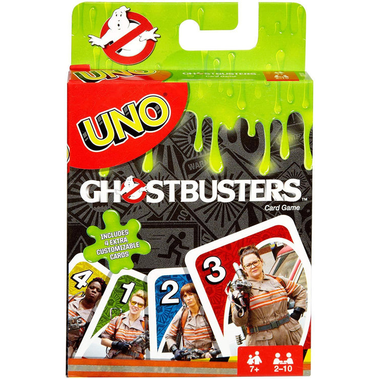 front view UNO - Ghostbusters Edition