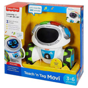Fisher-Price Think & Learn Teach 'n Tag Movi box packaging