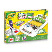silly scents sticker maker box packaging