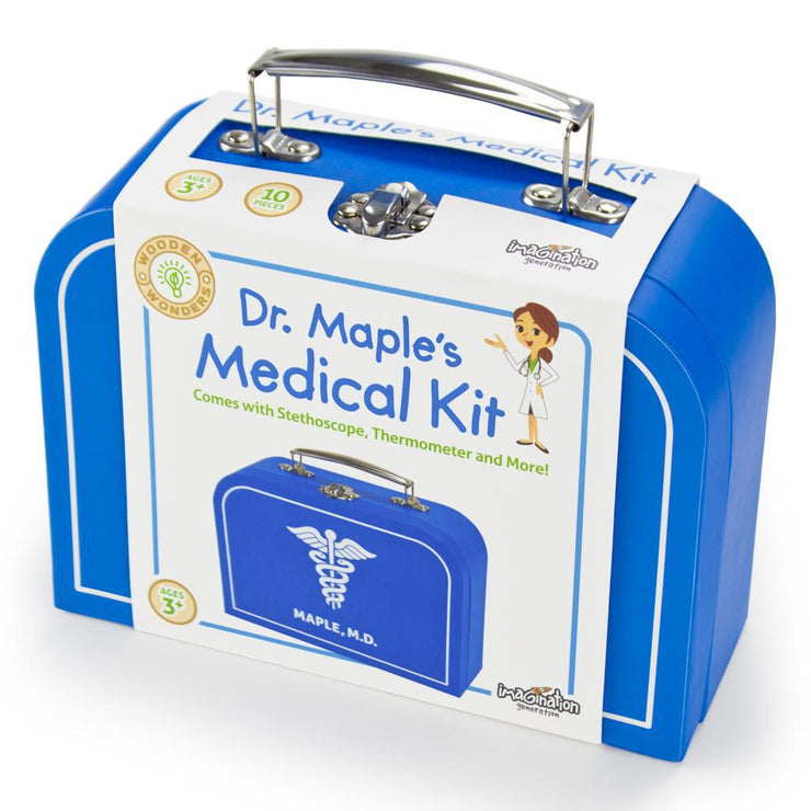 box packaging of Dr. Maple's Medical Kit