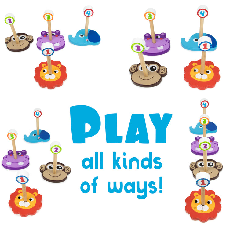 ring toss bases set out differently text reads play all kinds of ways