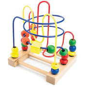 Developmental Wooden Bead Maze Game - Stem Toys