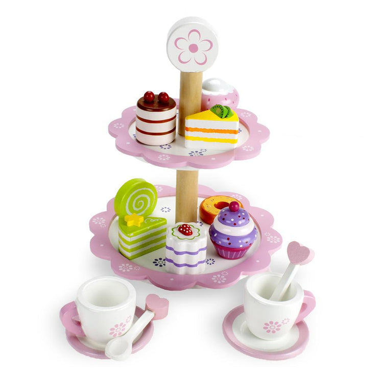 Wood Eats- Tea Time Pastry Tower