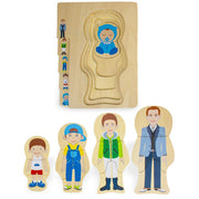 Gregory Grows Up Layered Jigsaw Puzzle - Stem Toys
