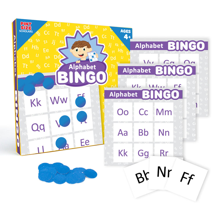 Alphabet Bingo a fun educational tool