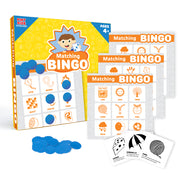 front view of the Matching Bingo Game