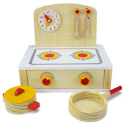 image of a creative play tabletop cooktop kitchenette set