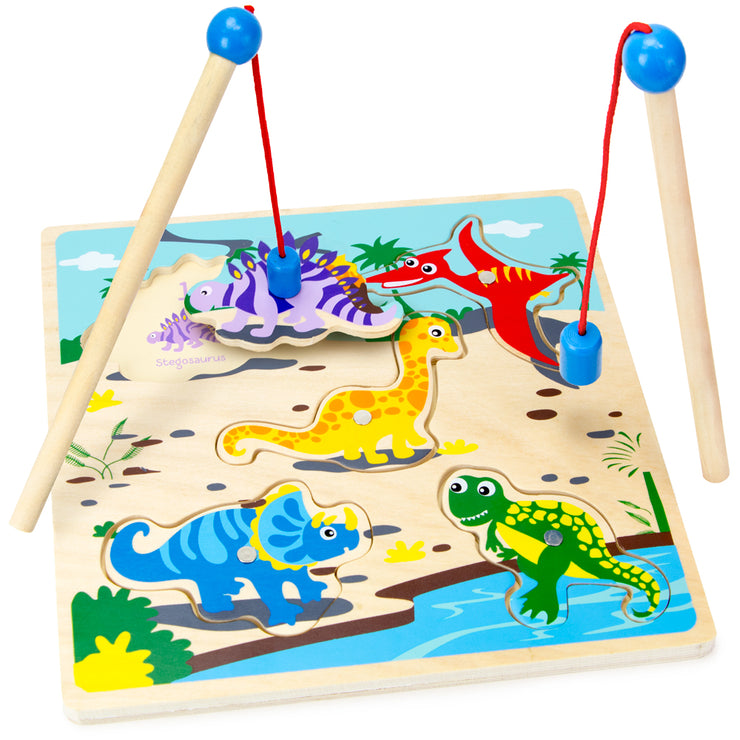 Lift & Look Magnetic Dino Catcher - Stem Toys