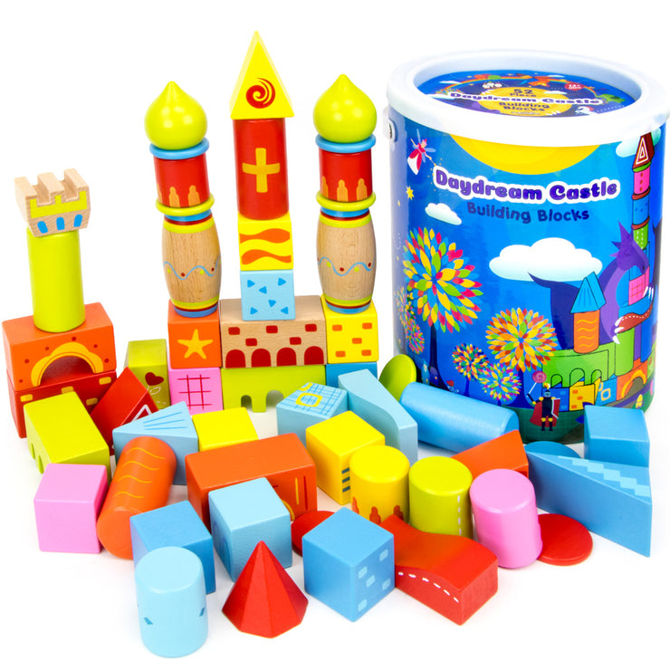 Daydream Castle Building Blocks - 52 Piece