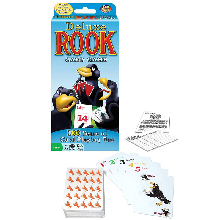 front view of Deluxe Rook Card Game