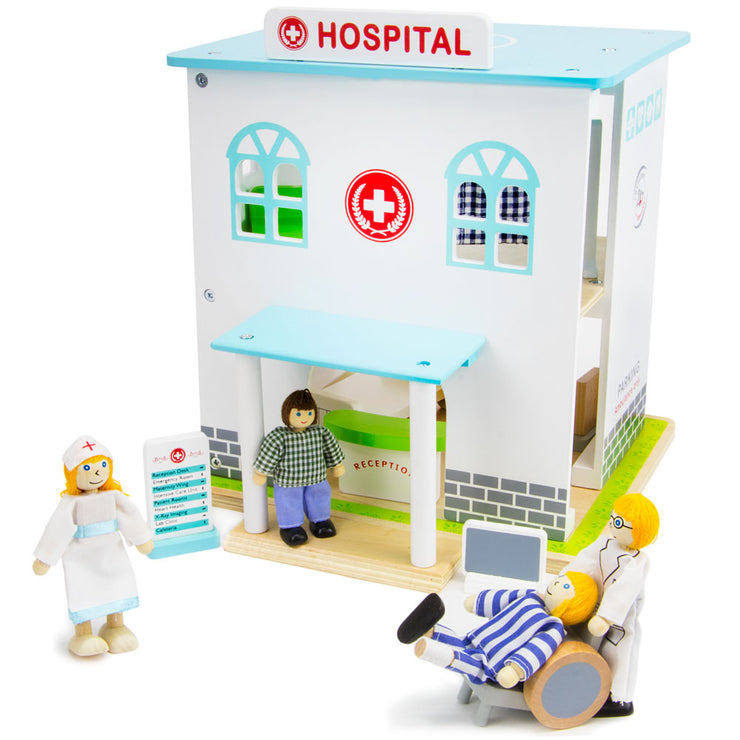 Helping Hands Hospital - Wooden Wonders