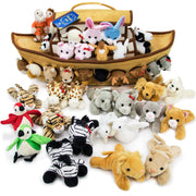 front view of the Noah's Ark Plush Play Set
