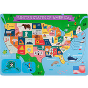 Fifty Nifty USA States Puzzle - Stem Toys