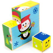 Christmas Puzzle Blocks - Stem Toys