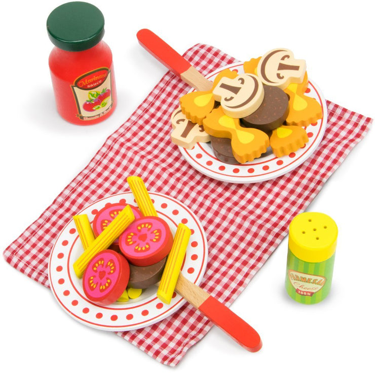 wood eats creative play primo pasta set