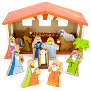 front view of the Nativity Set For Kids