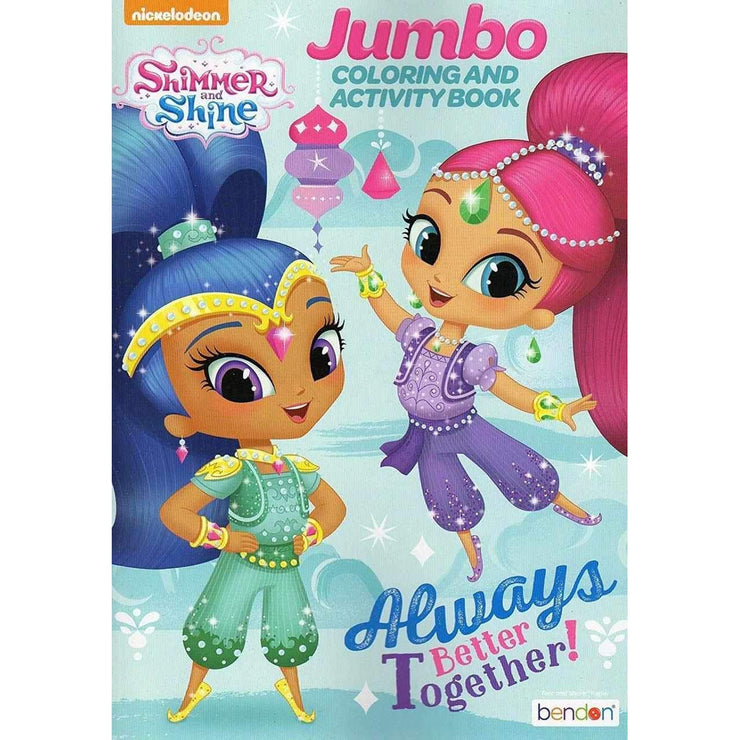 Shimmer and Shine Jumbo Coloring and Activity Book