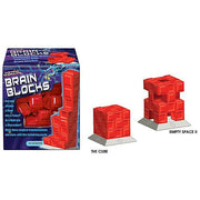 stem toys brain blocks with two different shapes built as an example