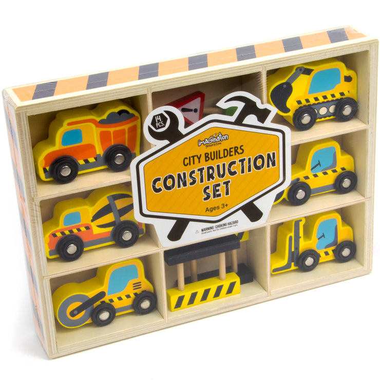 box packaging of city builders construction set