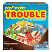 trouble board game box packaging