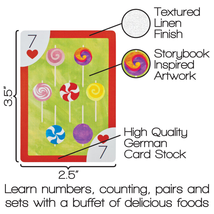one card displaying size features and description of learning opportunities