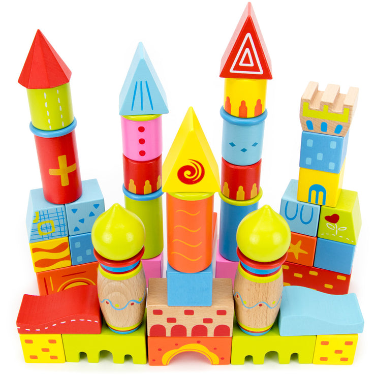 second view of  stem toys daydream castle building blocks
