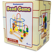 developmental bead game box packaging