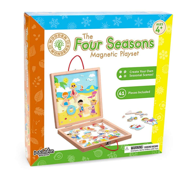 Four Seasons Magnetic Playset - Stem Toys