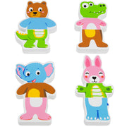 another four character from the Mix-n-Match Magnetic Animals set