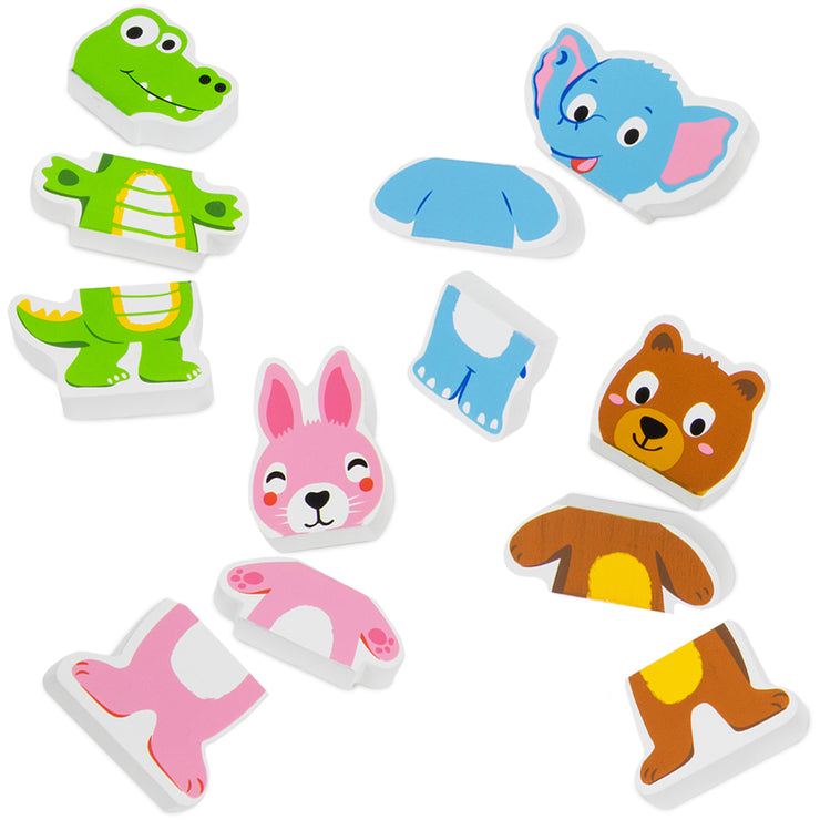 Mix-n-Match Magnetic Animals displayed with options to mix