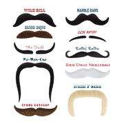 view of the ten Mr. Moustachio's 10 Manliest Mustaches