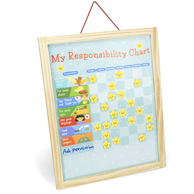 isometric view of My Responsibility Chart