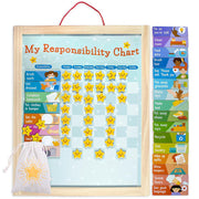 info-graphic view explaining the function of My Responsibility Chart