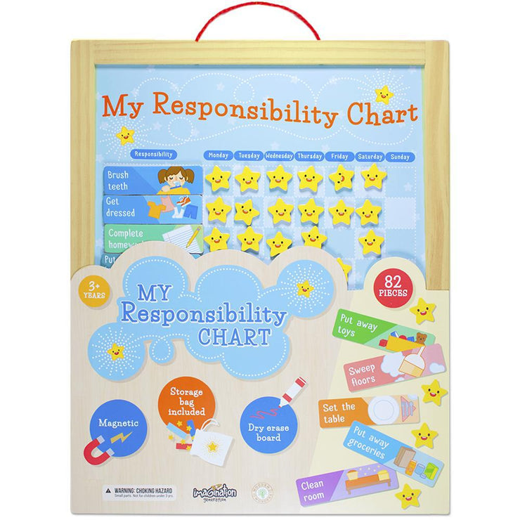packaging for the My Responsibility Chart