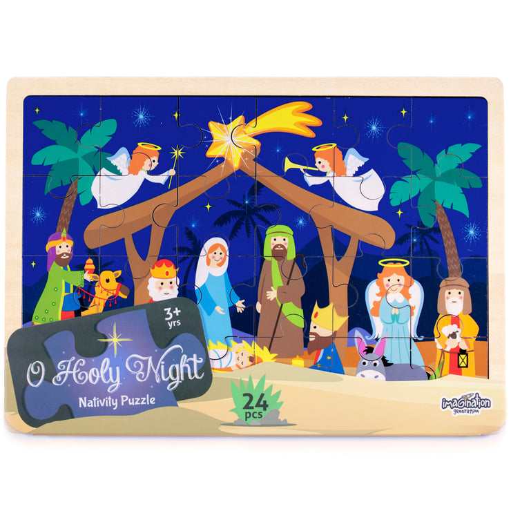establishing view of the Nativity Puzzle