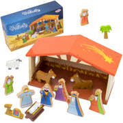 Nativity Set For Kids with box packaging